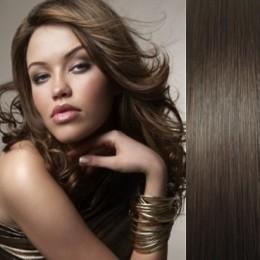 Vlasy pro metodu Pu Extension / TapeX / Tape Hair / Tape IN 50cm - světle hnědé