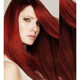 Clip in vlasy 73cm 100% lidské – REMY 140g – PLATINA/SVĚTLE HNĚDÁ