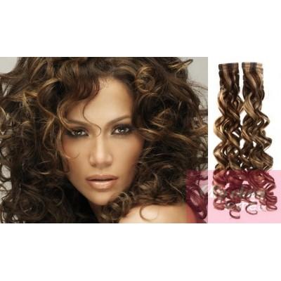 Haare strähnen dunkelbraune helle Strähnchen: Farbnuancen,