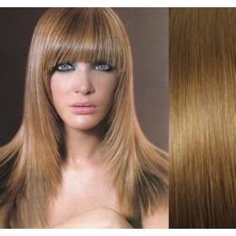 Clip in vlasy 43cm 100% lidské - REMY 70g – nejsvětlejší blond