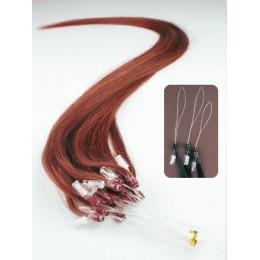 Haar für die Methoden Micro Ring / Easy Loop 40 cm – kupfer