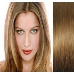 Clip in maxi set 73cm pravé lidské vlasy – REMY 280g – SVĚTLEJŠÍ BLOND